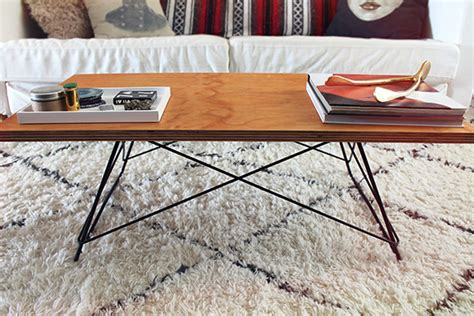 diy coffee table base diy metal base coffee table almost makes