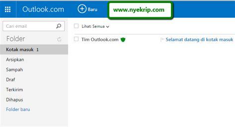membuat email baru di hotmail cara membuat email baru lengkap gambar nyekrip