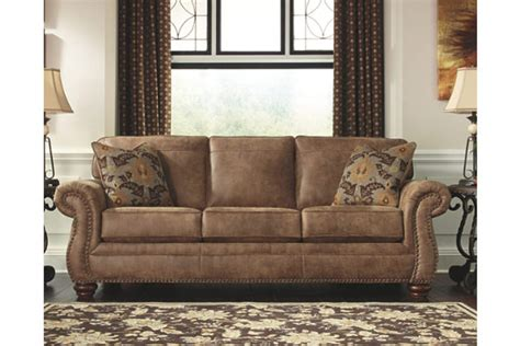 ashley larkinhurst sofa signature design by ashley 3190138 earth colored