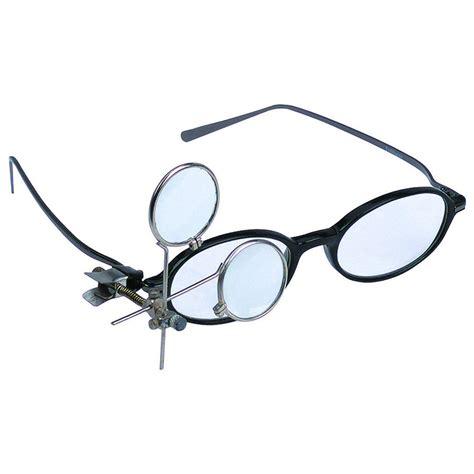 16 5x jeweler s clip on eye loupe