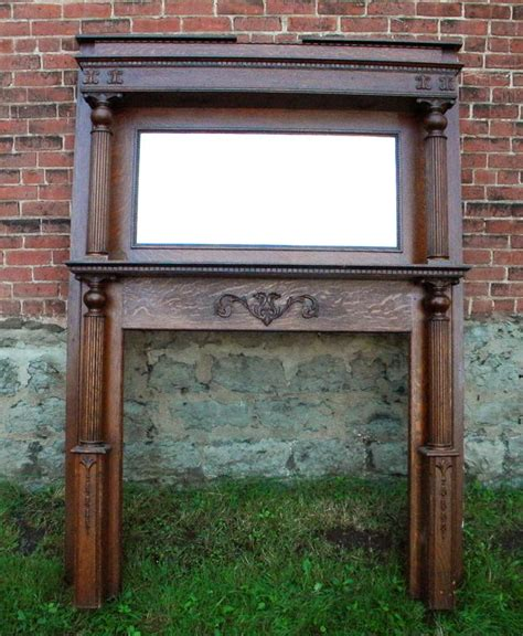 Antique Fireplace Mantel   gettin' hot in here   Pinterest