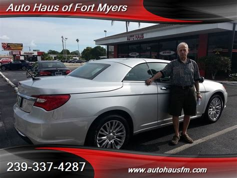 Chrysler Ft Myers by 2012 Chrysler 200 Series Limited Convertible Ft Myers Fl