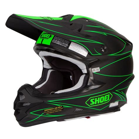 motocross bike helmets shoei vfx w motocross mx helmet hectic tc 4 matte black