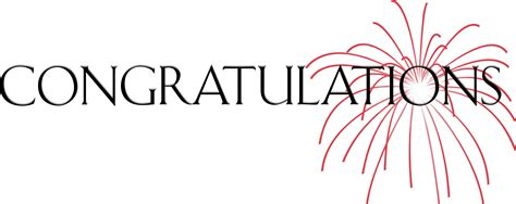 new year congratulation word congratulations to our winners continuous updating