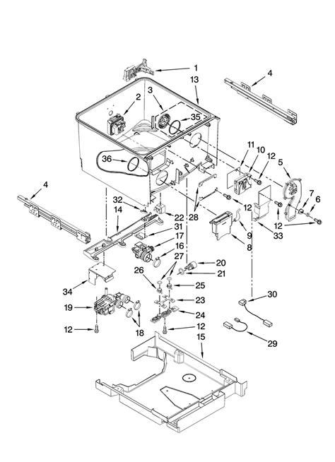 kenmore elite parts diagram size