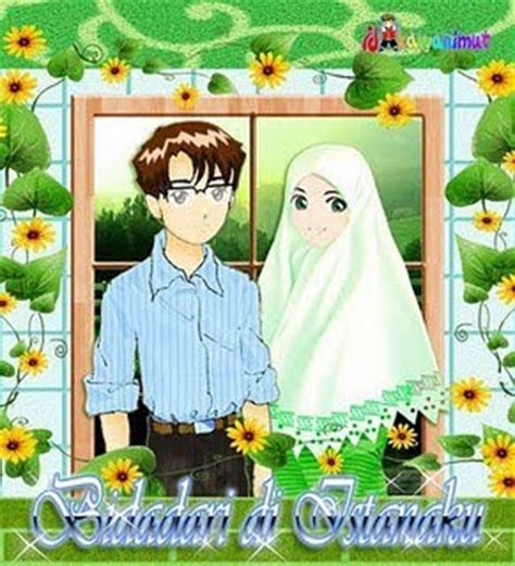 Animasi Pernikahan Islami by Gambar Wallpaper Kartun Religi Islami Wanita