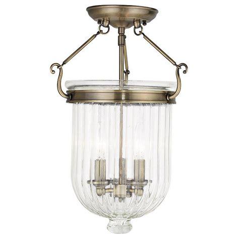 antique brass flush mount light livex lighting coventry 3 light antique brass flushmount