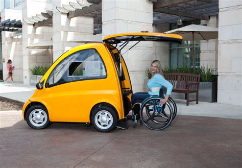 an electric car designed especially for in