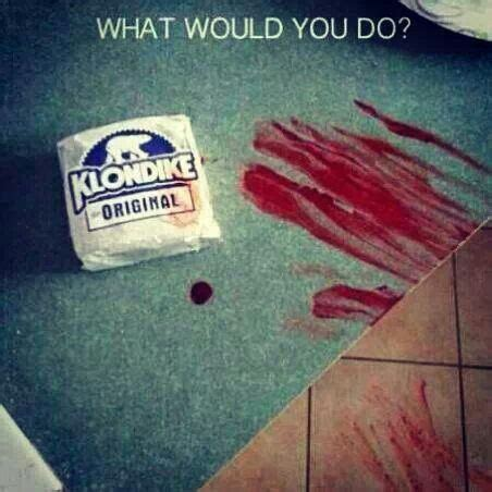 What Would You Do For A Klondike Bar Meme - what would you do for a klondike bar cr髯髯py pasta