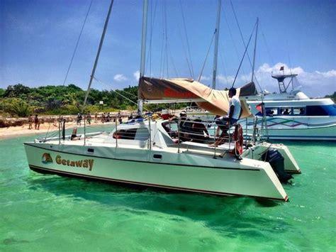 fajardo catamaran trip paradise icacos island picture of catamaran getaway