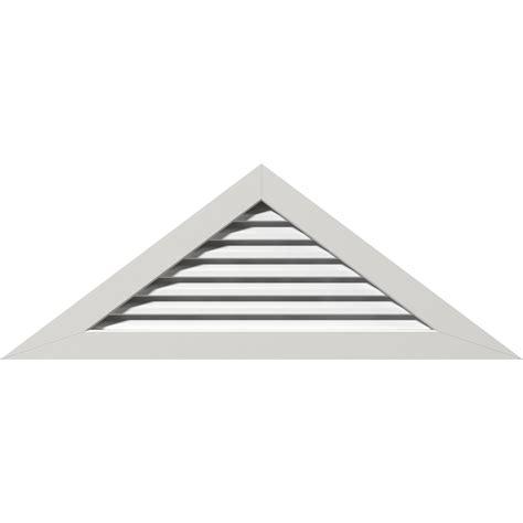 Triangular Gable Ekena Millwork Gvptr84x4201fun 84 Inch W X 42 Inch H