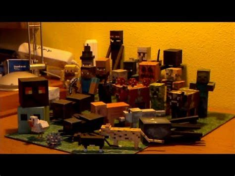 Minecraft Papercraft Collection - papercraft minecraft papercraft collection with all mobs