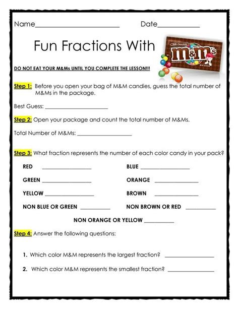 Another Pinner Said Quot Another Completed Craft - 25 best ideas about fractions on math