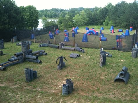 Backyard Paintball Pendergrass Outdoor Sports