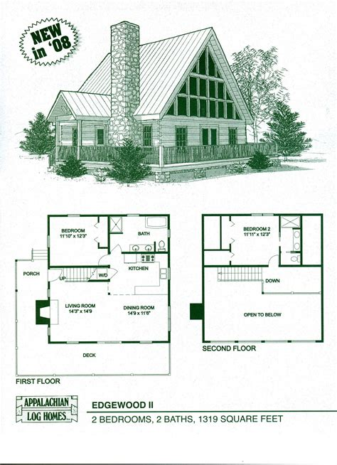log cabin home plans log home house plans with loft home deco plans