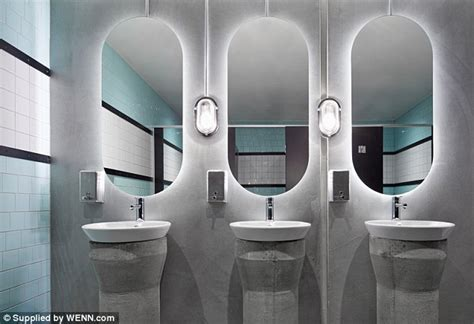 public bathroom mirror prahran hotel bar is transformed into glamorous drinking