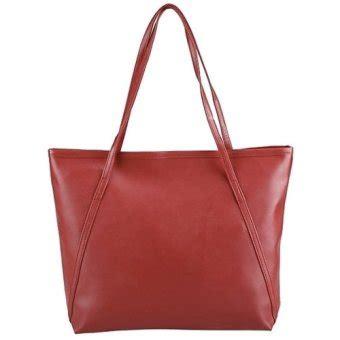 Tas Wanita Tote Shoulder Bag tas wanita fashion pu tote leather handbags shoulder