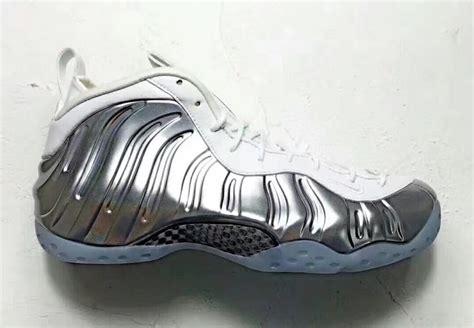 chrome release nike air foosite one chrome silver aa3963 100 sneaker