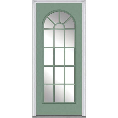 32 X 73 Exterior Door Mmi Door 32 In X 80 In Clear Glass Left Lite External Grilles Top Classic