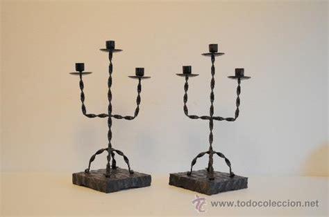candelabros de forja candelabros de forja y madera comprar l 225 mparas vintage
