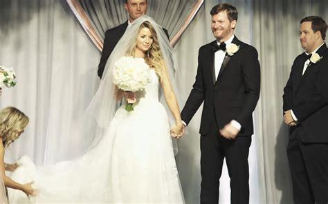 dale earnhardt jr  married   years eve