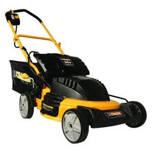 electric lawn mowers at home depot recharge mower 20 in 36 volt lithium ion cordless