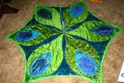 peacock christmas tree skirt peacocks pinterest