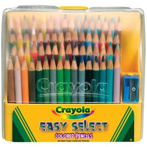 crayola colored pencils 64 pack colored pencils pencil and title page on