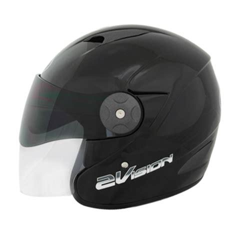 Helm Kyt 2 Vision Hitam Helm Kyt 2 Vision Solid Pabrikhelm Jual Helm Murah