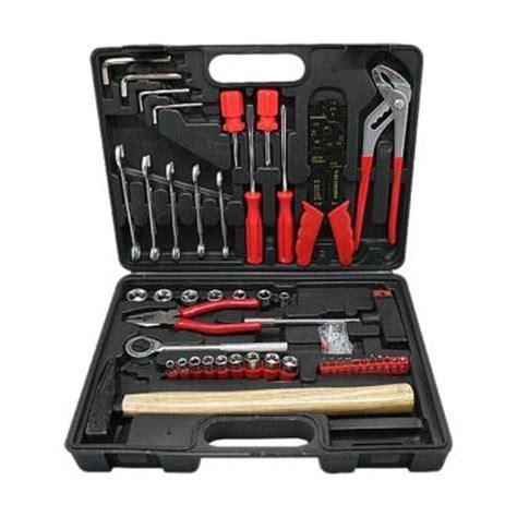 Kunci Sok 40 Pcs Tool Kit Kenmaster Lengkap jual perkakas tangan alat bangunan terbaik blibli
