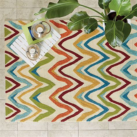indoor outdoor chevron rug tcs site