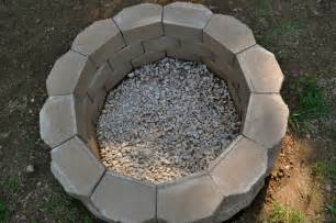 How To Make An Outdoor Firepit Salty Tales Diy Pit