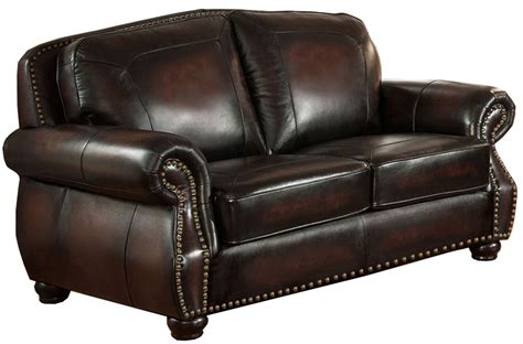 coleman leather sofa hyde brown leather living room set from amax leather