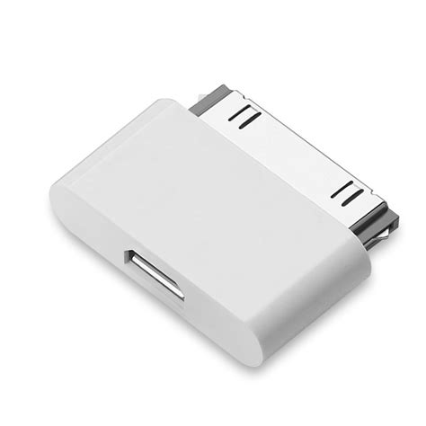 Otg Iphone 4 10pcs micro usb adapter charging converter for