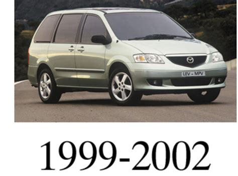 how to download repair manuals 2000 mazda mpv engine control mazda mpv 1999 2000 2001 2002 service repair manual pdf dwonload autos weblog