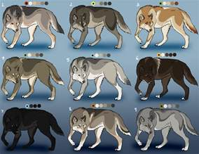 wolf fur colors wolf adoptables closed by nature ridge adopts on