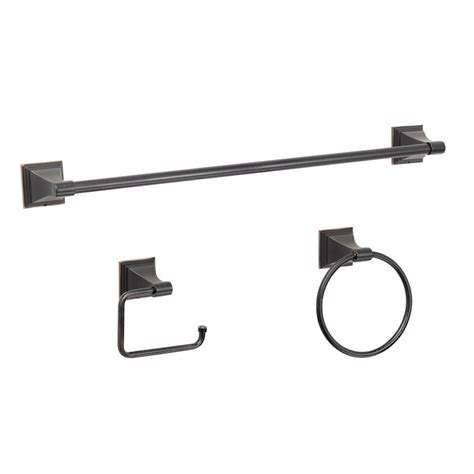 bathroom hardware sets oil rubbed bronze 3 piece oil rubed bronze bathroom hardware set