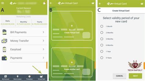 buy domain  easypaisa virtual debit card