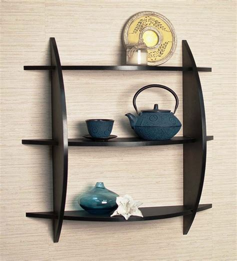 Black Metal Wall Shelf Shopping India Shop For Furniture Home