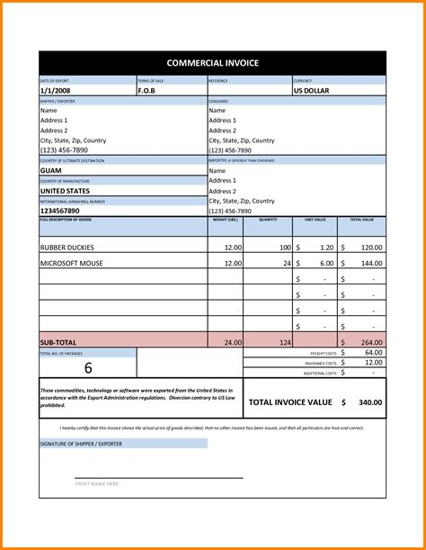 7 invoice format in excel free download ledger paper