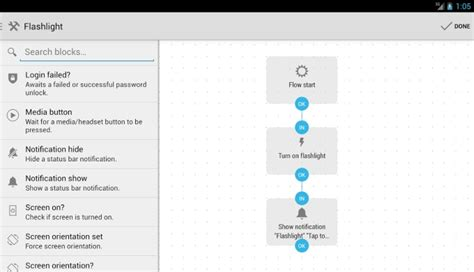 android automation app automate β automates your android apps with flowcharts