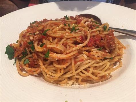 Spaghetti Bolognese Picture Of California Pizza Kitchen California Pizza Kitchen Philadelphia