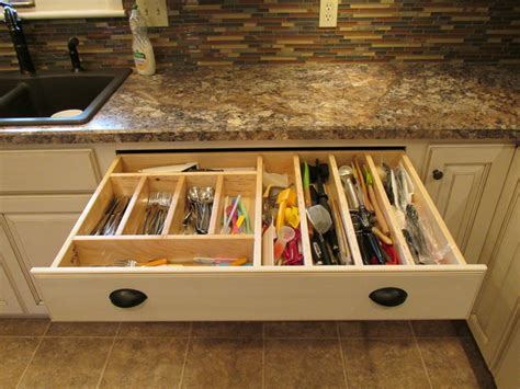 Kitchen Cabinet Drawer Accessories Kitchen Accessories Kitchen Drawer Organizers Other Metro By Woodart Cabinetry