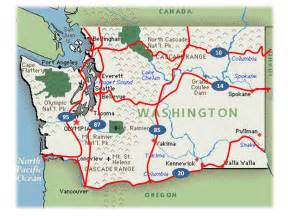 Washington State Highway Map by Bikewa Work Progressing On State S First Official Us Bike