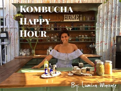 Happy Hour Mamie by Kombucha Happy Hour Miami Lumina Inc