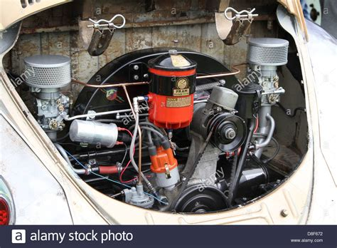 volkswagen beetle engine vw beetle engine bay stock photo royalty free image