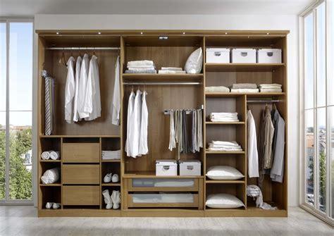 Wardrobe Inner Designs by Stylform Aura Solid Oak And Mocca Hinge Door Wardrobe