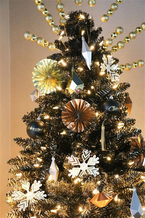 black and gold trees a kailo chic decorate it a black and gold ombr 232 tree