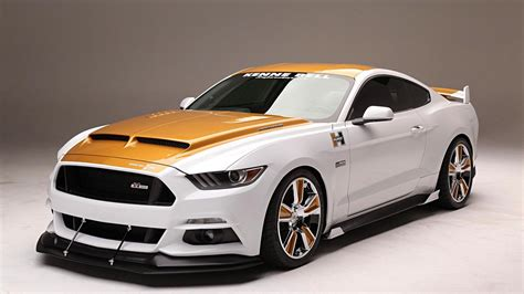 Bell Ford by Sema 2017 Hurst Kenne Bell R Code Ford Mustang Excites