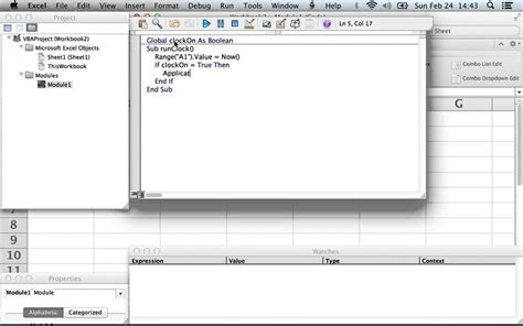 tutorial excel vba 2007 excel 2007 vba timer control arduino and real time
